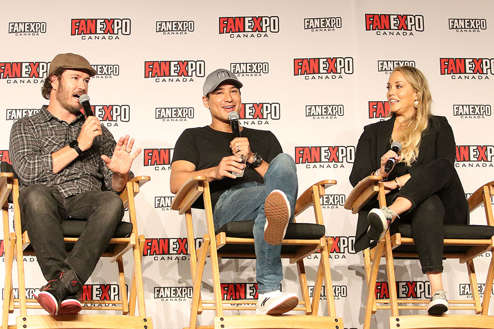 Mark-Paul Gosselaar, Mario Lopez and Elizabeth Berkley