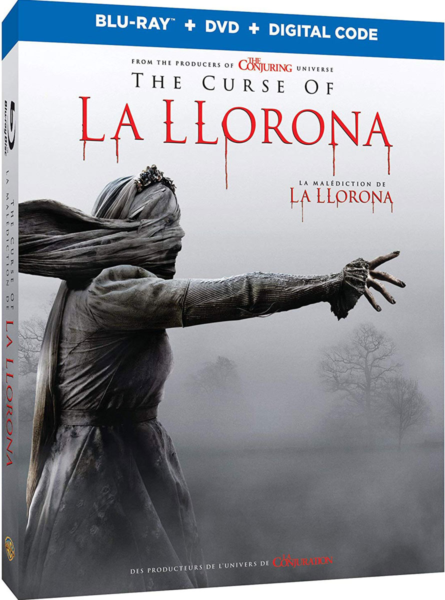 The Curse of La Llorona, now available on Blu-ray and DVD