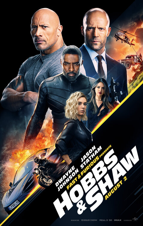 Hobbs & Shaw movie poster