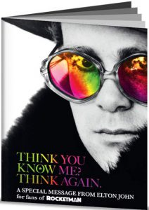 Think You Know Me? Think Again. A Special Message from Elton John