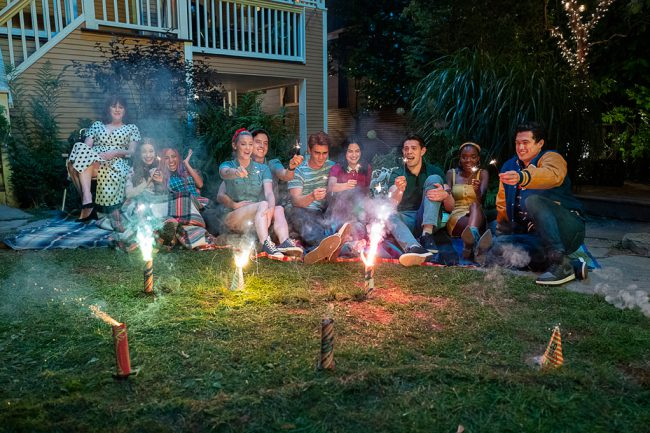 Based loosely on the Archie comics, this dark TV series returns for its fourth season, with Archie (KJ Apa), Betty (Lili Reinhart), Veronica (Camila Mendes), Jughead (Cole Sprouse) and their friends getting ready for their senior year of high school following a tragedy.