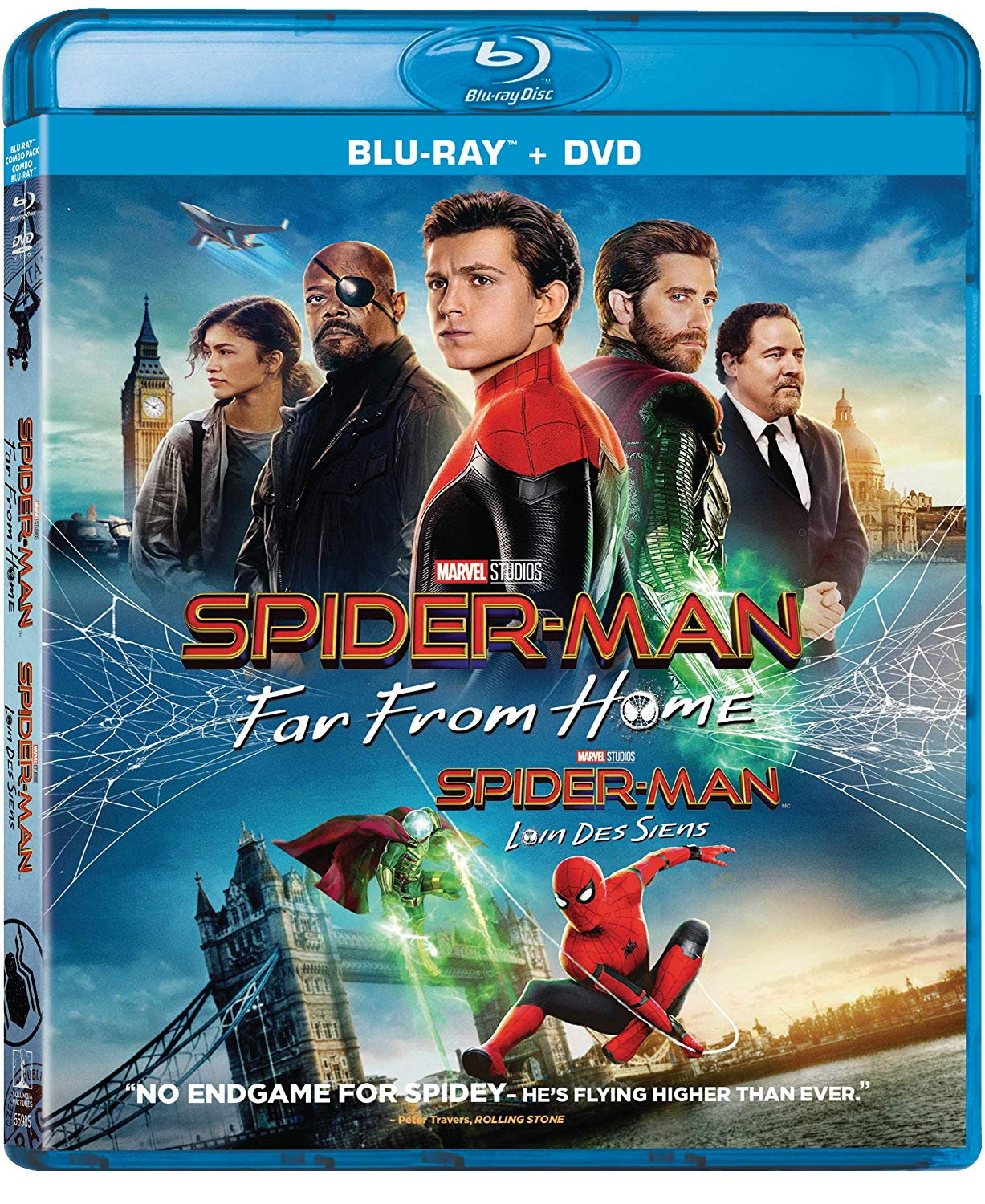 Spider-Man: Far From Home Blu-ray DVD