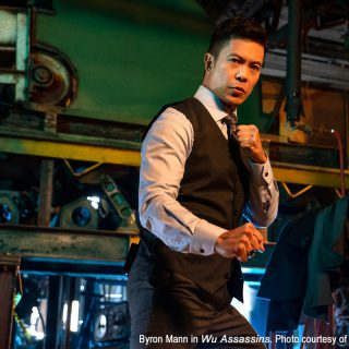 Byron Mann and Tzi Ma of Netflix series Wu Assassins