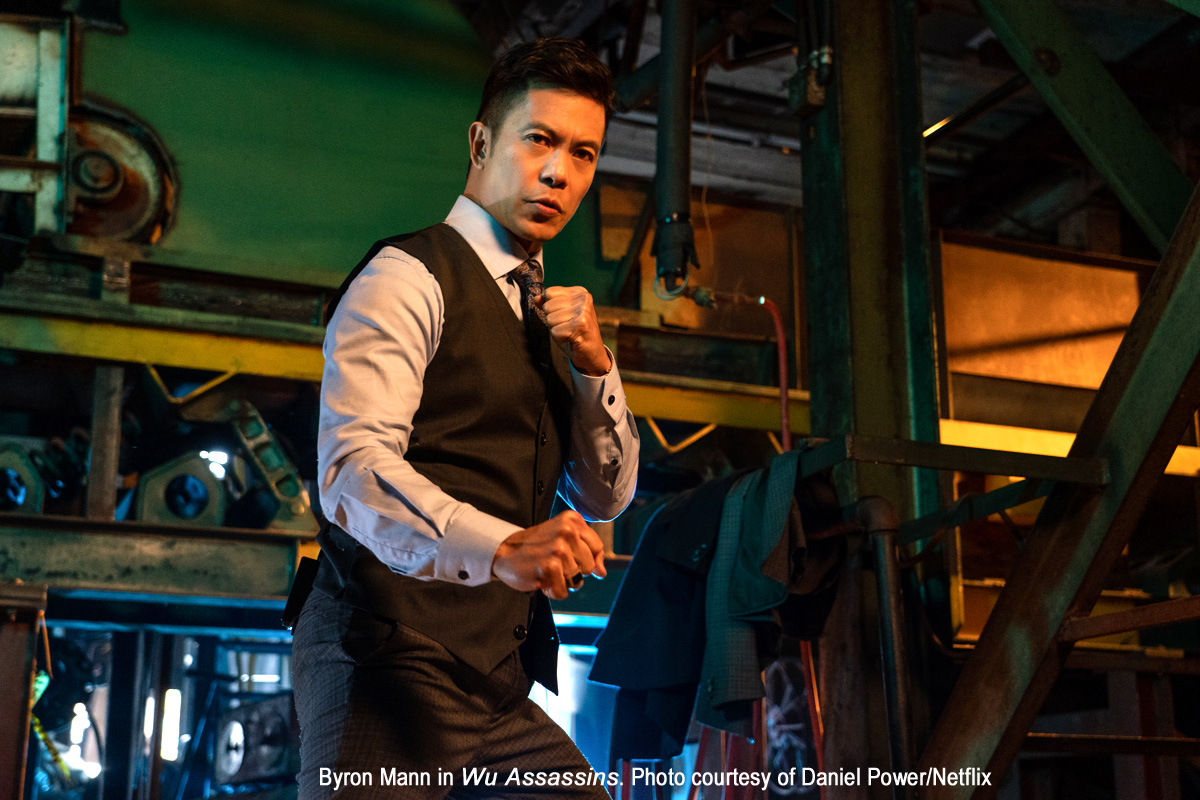 Byron Mann in Wu Assassins