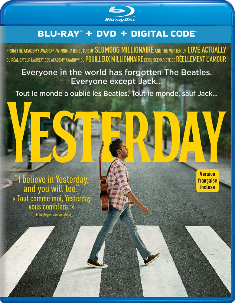 Yesterday on Blu-ray and DVD