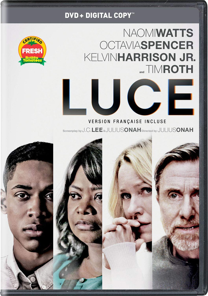 Luce starring Octavia Spencer and Tim Roth on DVD