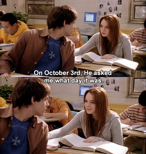 October 3 Mean Girls Meme