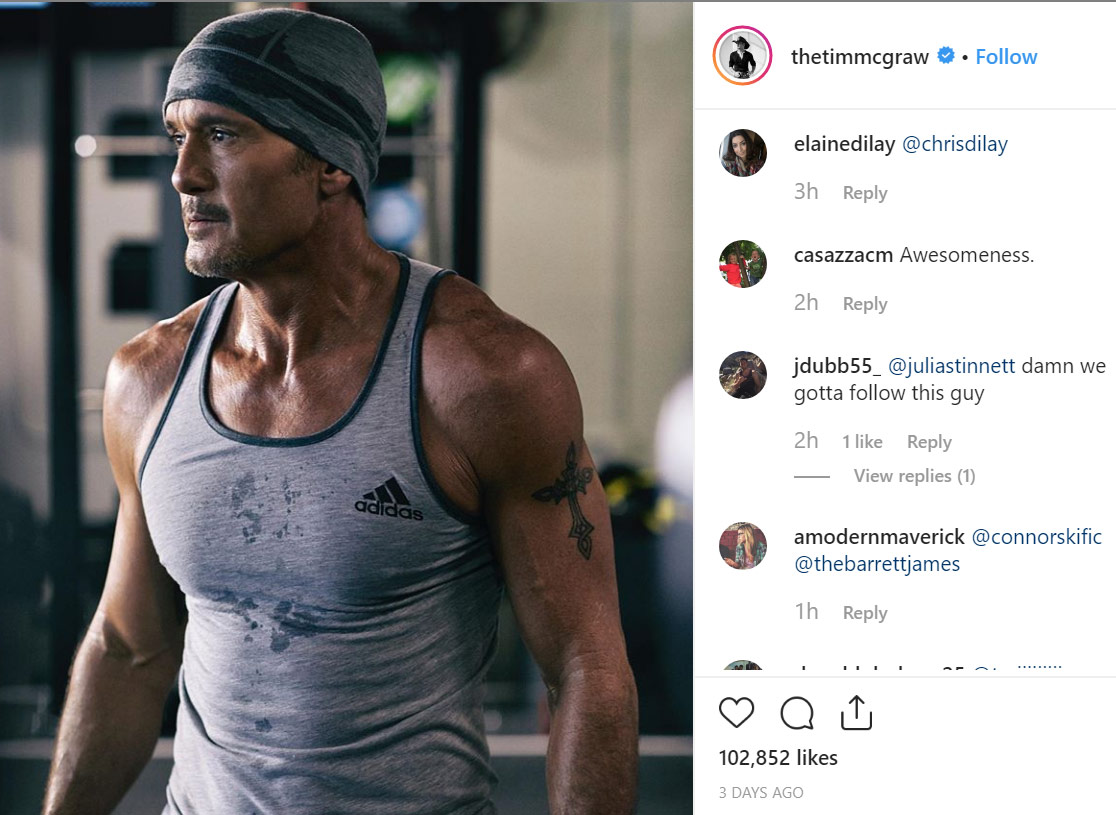 Tim McGraw Instagram