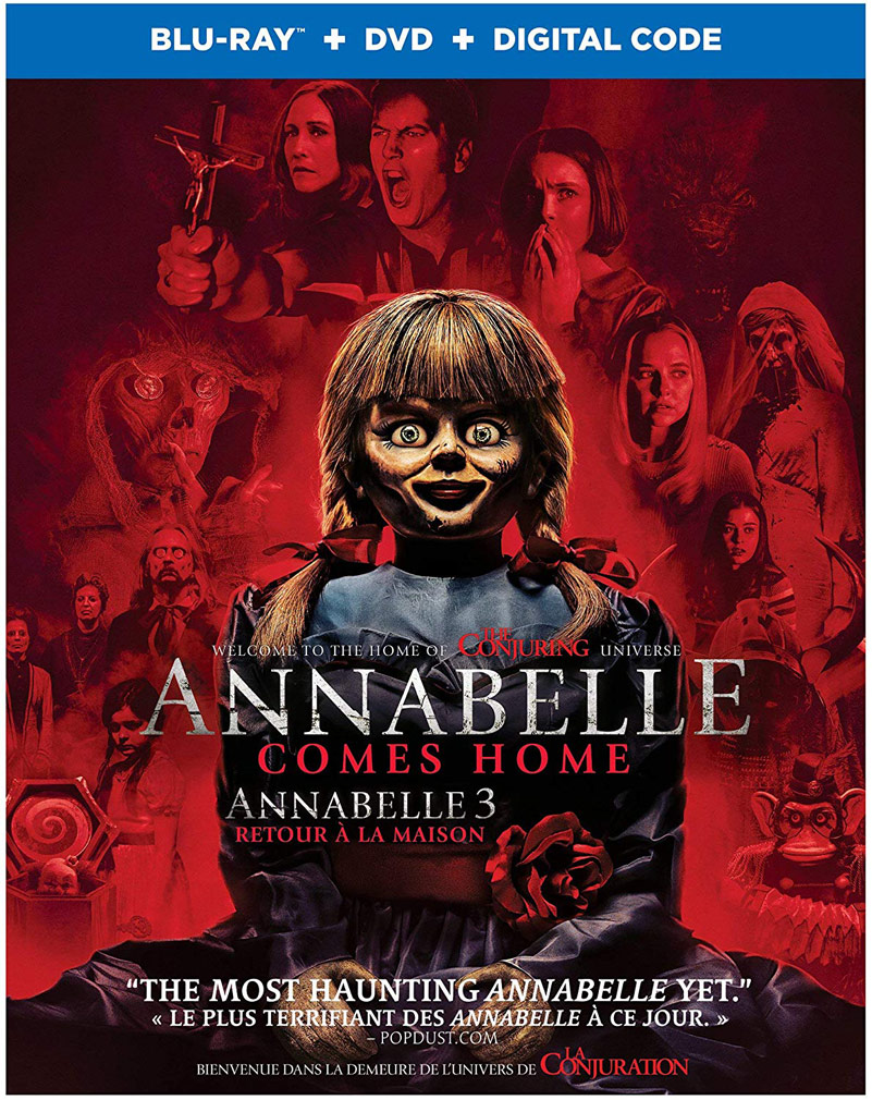 Annabelle Comes Home Blu-ray and DVD
