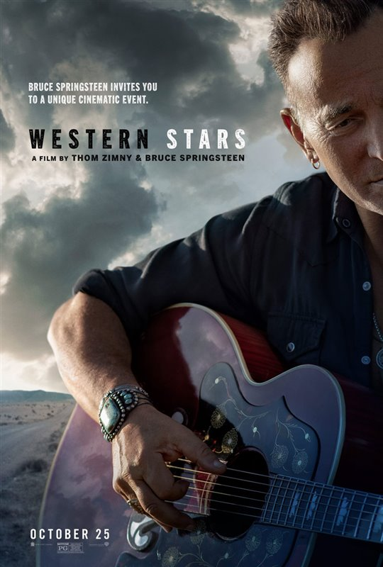 Western Stars movie poster Bruce Springsteen