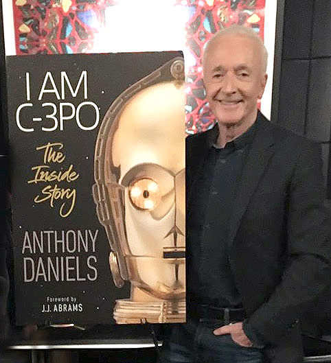 Anthony Daniels on new book I Am C-3PO: The Inside Story