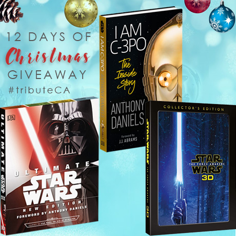12 Days of Christmas Giveaway - Star Wars