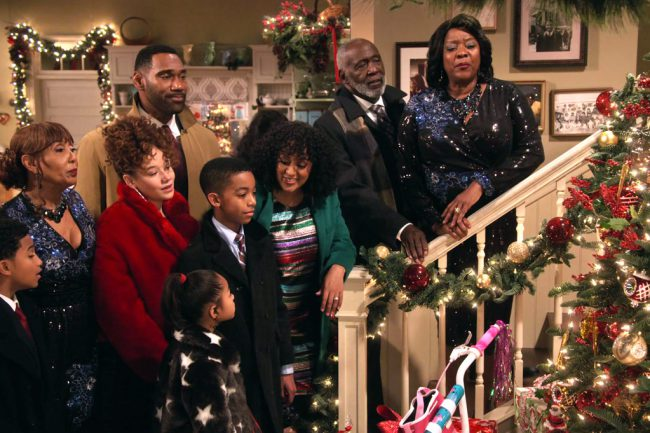 In this special episode of the Netflix series Family Reunion, M'Dear (Loretta Devine) and her sisters struggle to keep their singing act together before a church Christmas pageant, while Grandpa teaches the kids a valuable lesson.