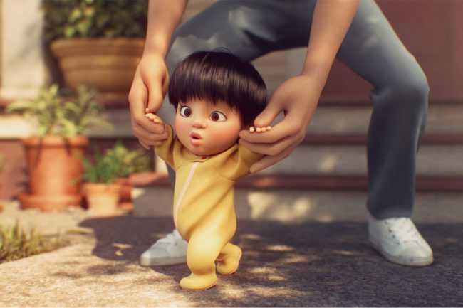 These amazing Pixar Animation short films are by first-time directors. In Float (pictured above), a father discovers his young son can float. As the boy grows, and they begin to get glances from strangers, he feels he has to hide what his son can do. In Kitbull, an adorable stray kitten and a lonely pitbull […]