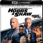 Fast & Furious Presents: Hobbs & Shaw Blu-ray