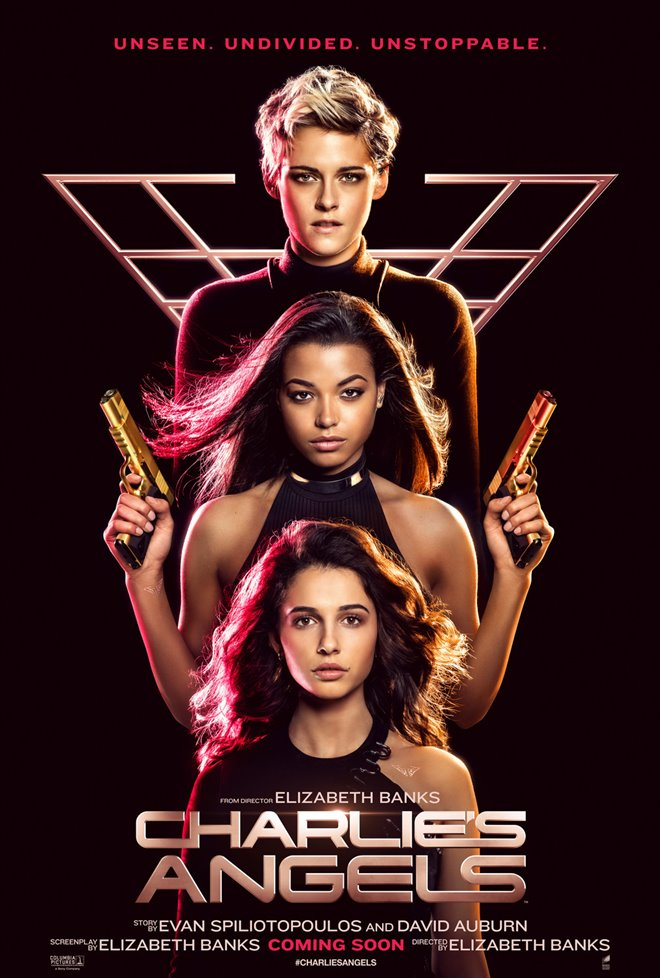 Kristen Stewart shines in Charlie's Angels - movie review