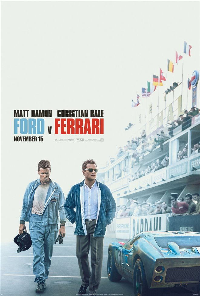 New movies in theaters - Ford v Ferrari and more