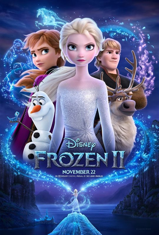 New movies - Frozen II, A Beautiful Day in the Neighborhood