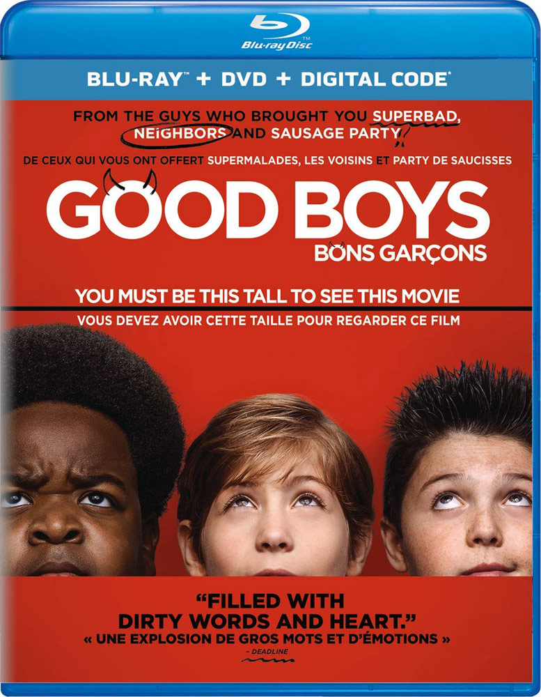 New on DVD - Good Boys, The Angry Birds Movie 2 and more