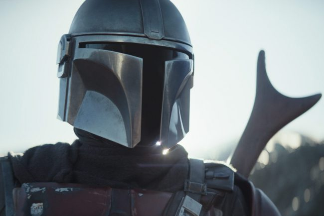 Roughly five years after Return of the Jedi and before the emergence of the First Order, The Mandalorian (Pedro Pascal), a lone gunfighter, emerges in the Star Wars Universe. Click here to sign up for Disney+ and to get the 7-day free trial!