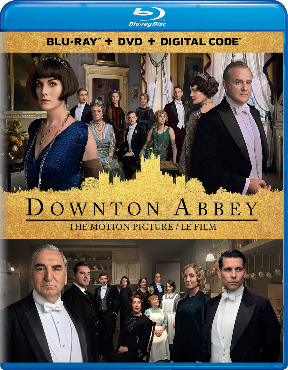 Downton Abbey available on Blu-ray and DVD