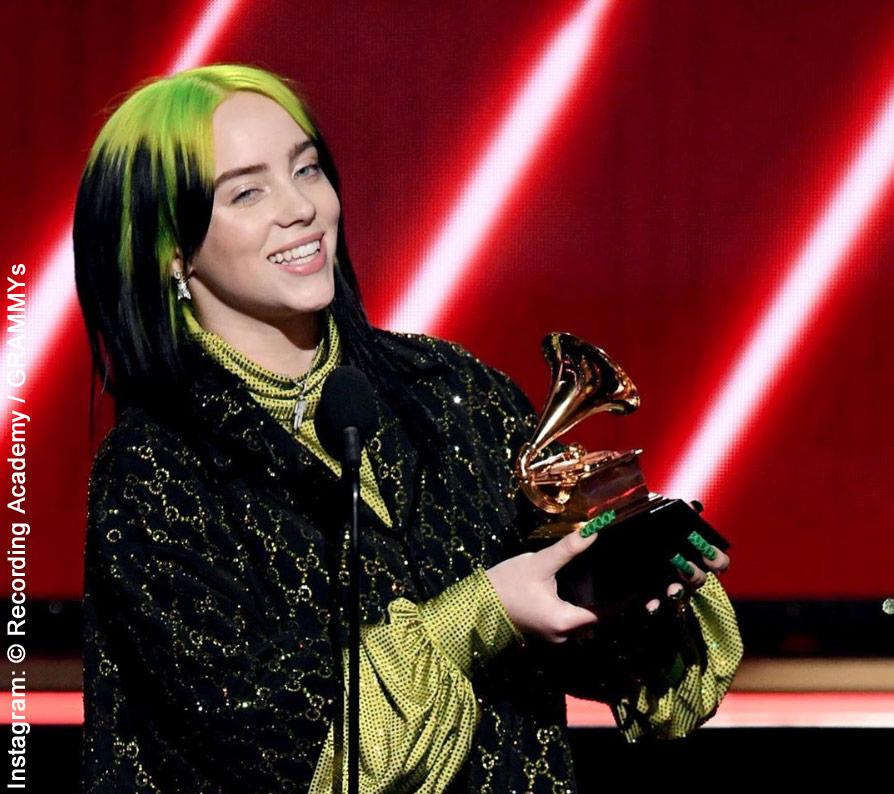 Billie Eilish photo: Recording Academy/Grammys