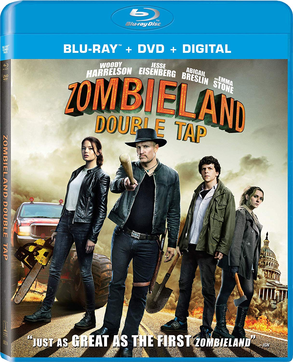 Zombieland: Double Tap Blu-ray