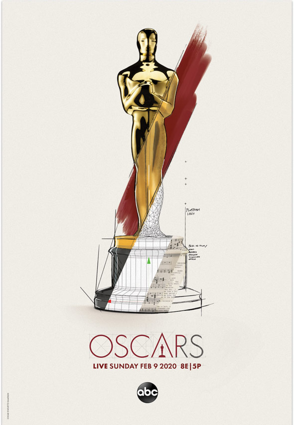 Oscars limited edition poster