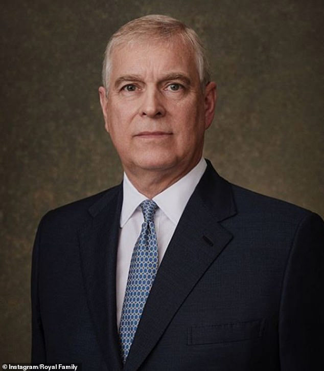 Prince Andrew portrait courtesy The Royal Family