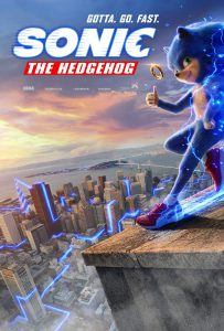 Sonic the Hegdehog the movie poster
