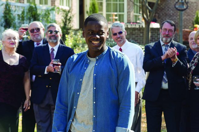 Get Out has one of the highest ratings of all time at Rotten Tomatoes: 98 percent. An Oscar winner for Best Original Screenplay by director/writer Jordan Peele, this fascinating film about a young man (Daniel Kaluuya) who goes to meet his girlfriend's parents was the hit of the year, both with critics and audiences.