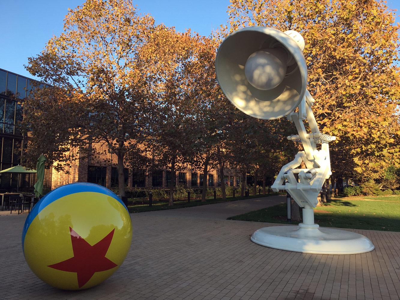 Pixar's famous Lamp and Ball