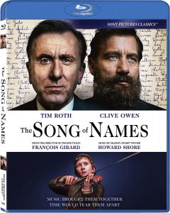 The Song of Names on Blu-ray