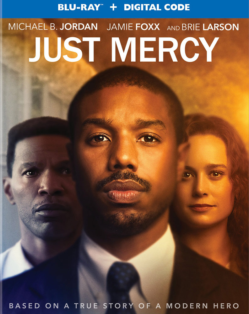 Just Mercy Blu-ray cover