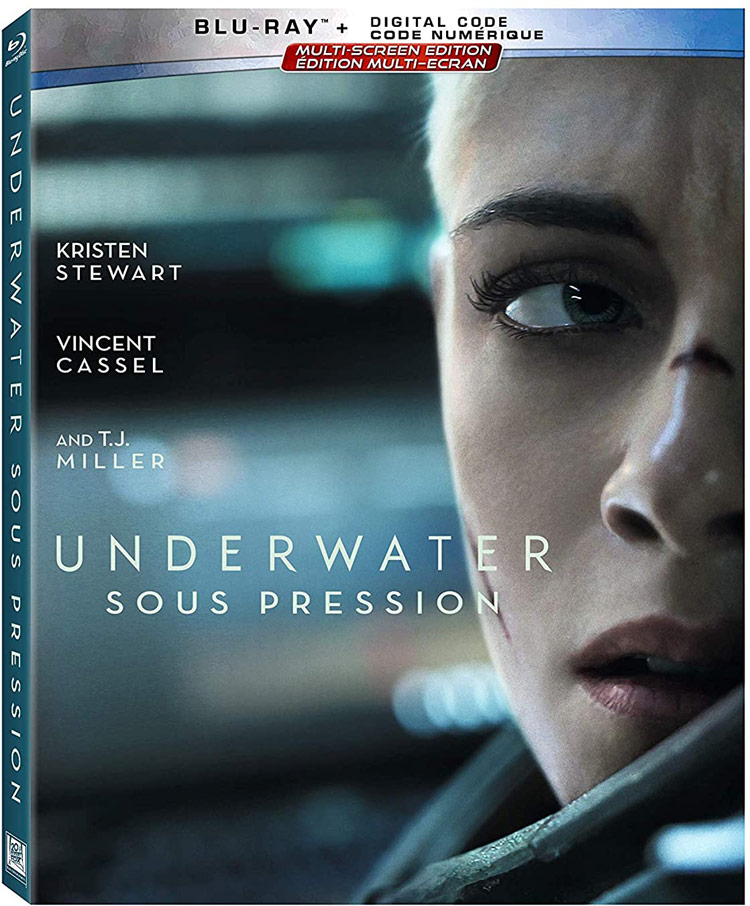 Underwater Blu-ray starring Kristen Stewart