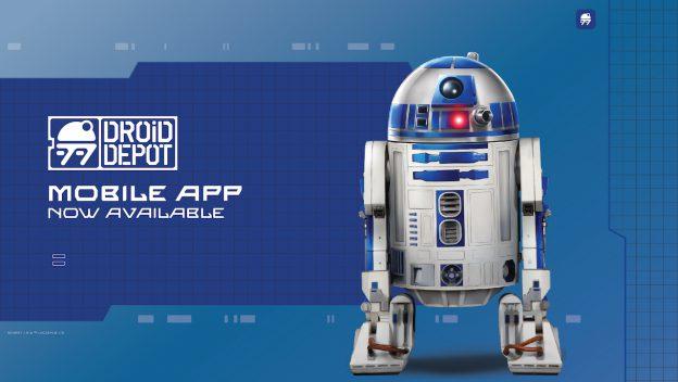 Droid Depot Mobile App