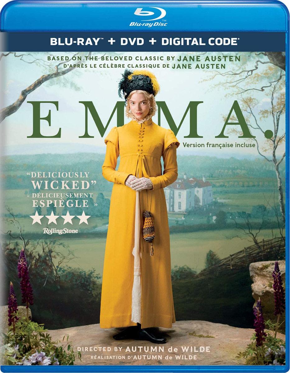 Emma on Blu-ray and Digital