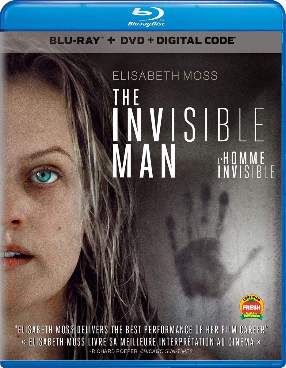The Invisible Man on Blu-ray