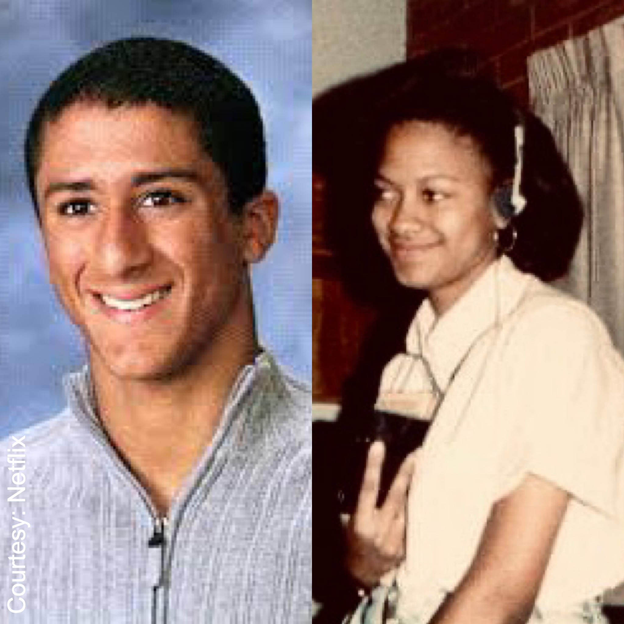 Colin Kaepernick and Ava DuVernay's high school photos