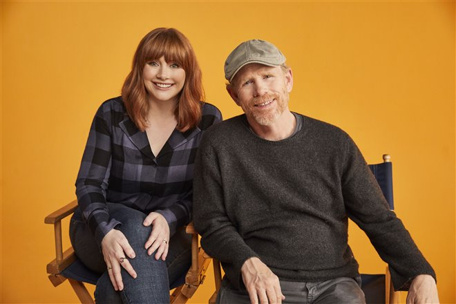 Bryce Dallas Howard and her father, Ron Howard