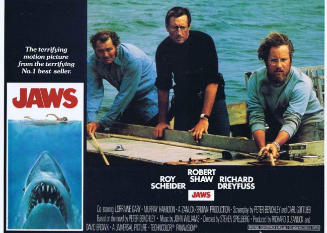 Steven Spielberg set the template for the modern blockbuster with his comedy/horror masterpiece, Jaws. The film's success called for Jaws 2, Jaws 3-D, and Jaws: The Revenge. While the films are jaw-some, they're just about as fictional as they come, so keep that in mind!