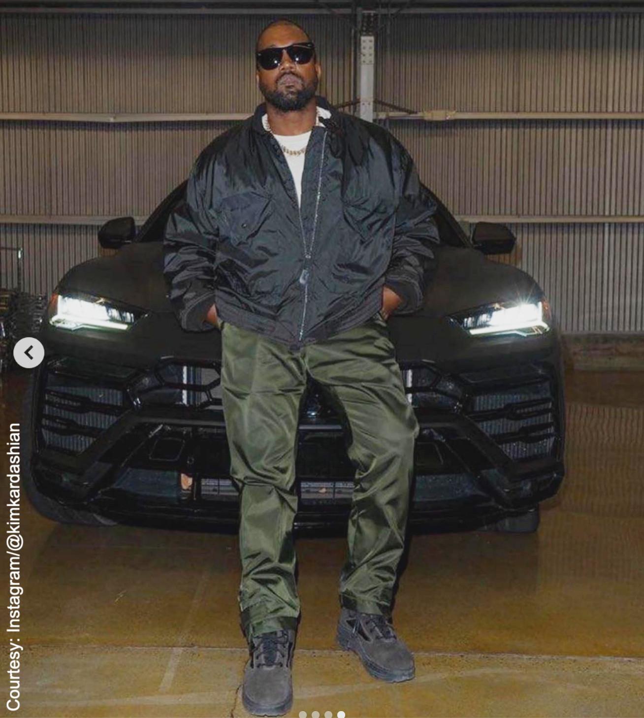 Kanye West Instagram photo