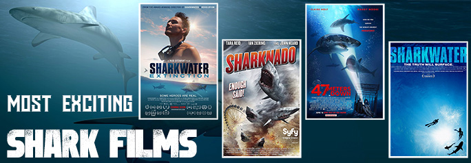 Most Exciting Shark Films of All Time