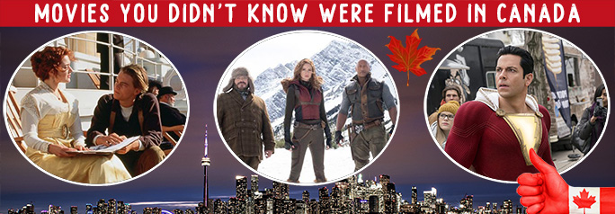 Movies You Didn't Know Were Filmed in Canada