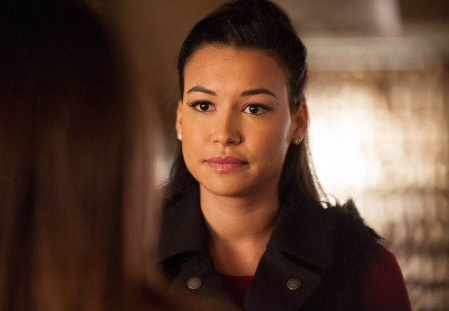 Naya Rivera in a still from the series Glee. Courtesy Fox Television