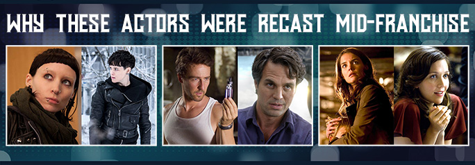 Why These Actors Were Recast Mid-Franchise