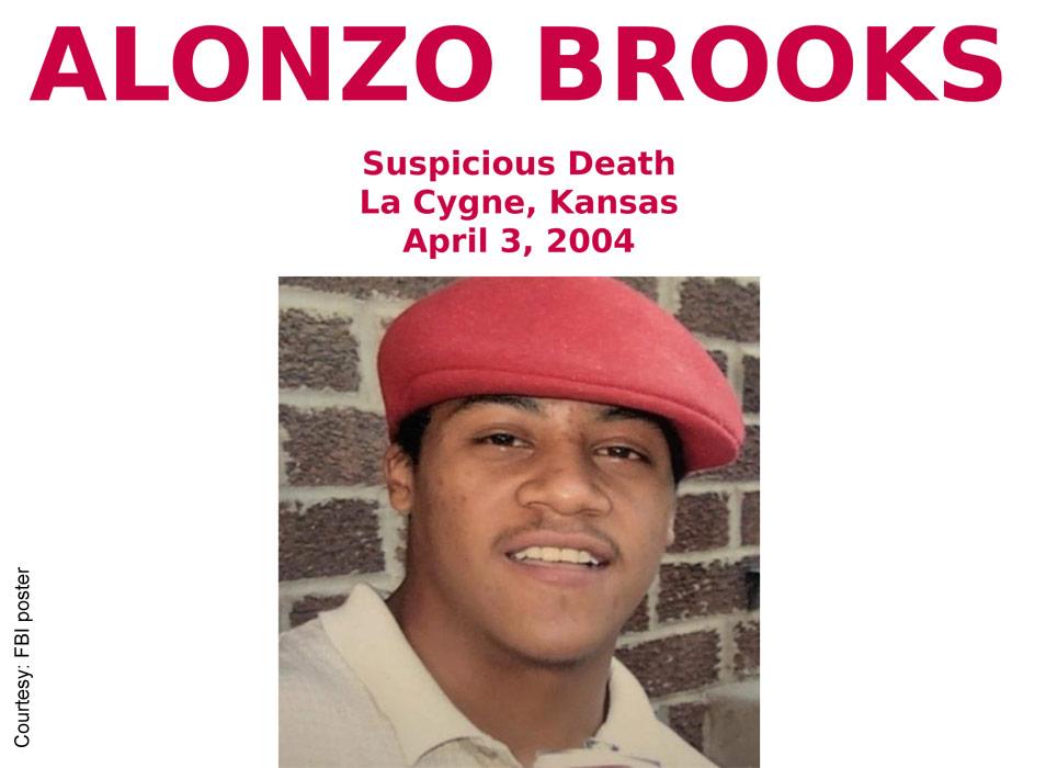 Alonzo Brooks FBI poster