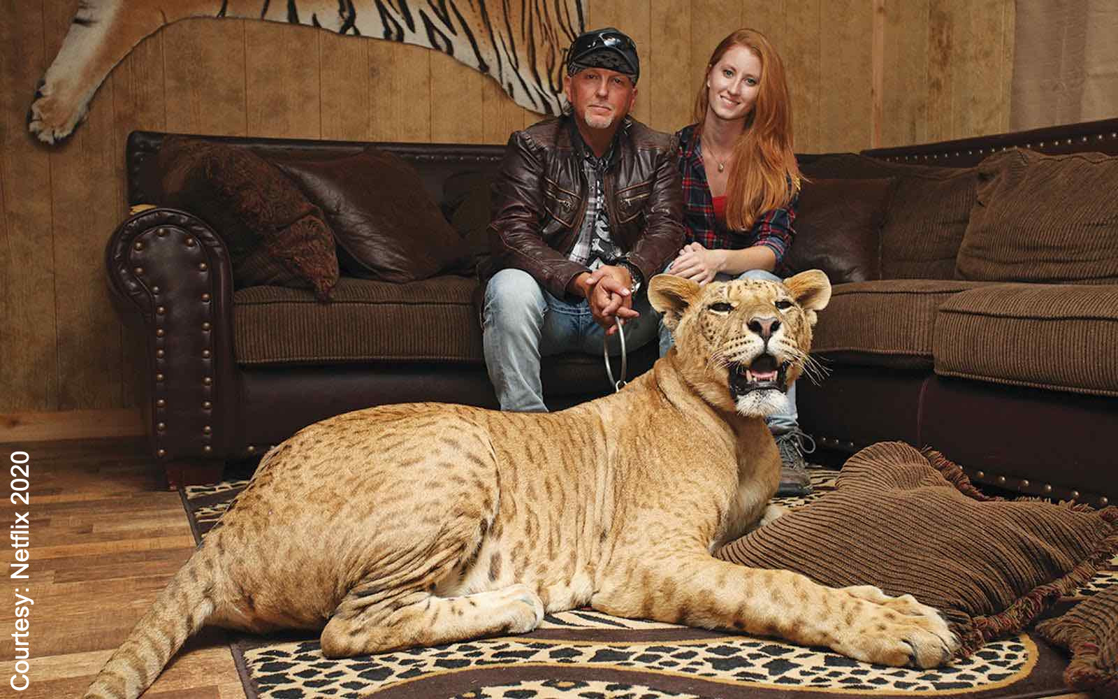 Tiger King's Jeff Lowe and his wife Lauren