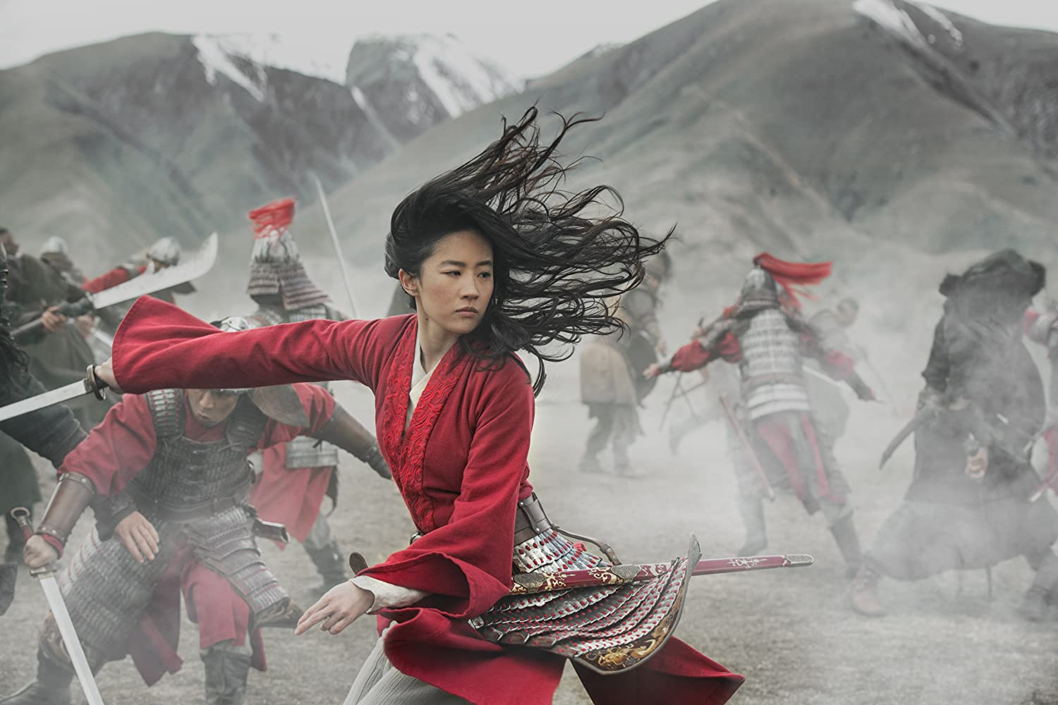 Yifei Liu in and as Mulan