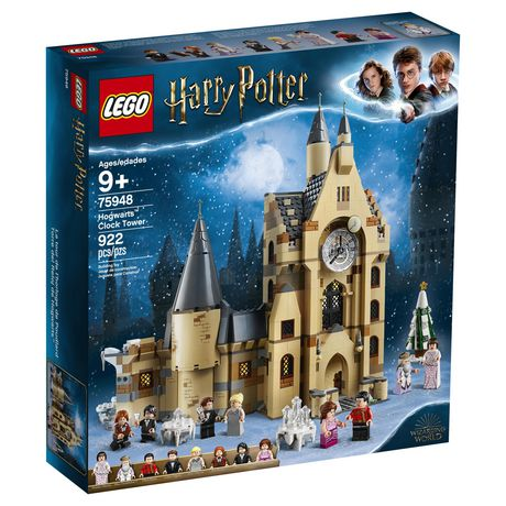 LEGO Harry Potter and the Goblet of Fire Hogwarts Clock Tower Toy Building Kit